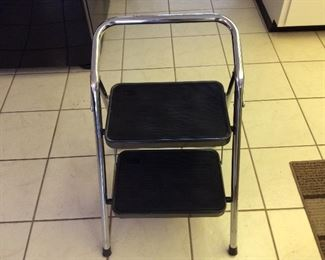 Excellent condition vintage 1950's step ladder