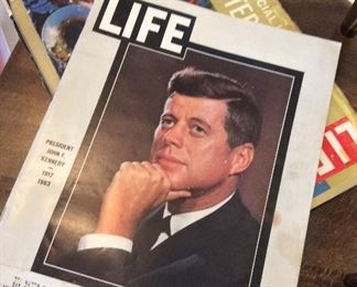 November 29, 1963.   JFK   LIFE history collectible magazine