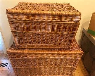 wonderful wicker, storage in style, handy but hidden, small, medium and large sizes, huge collection