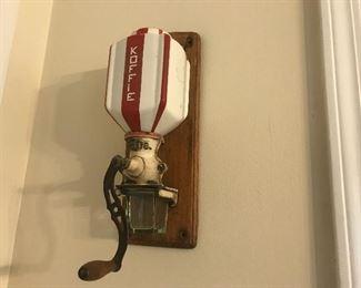 coffee is up, coffee grinder, kitschy kitchen gadgets,