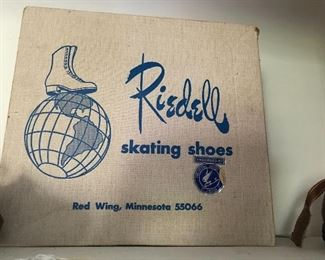 Professional Ice Skates, lightly used, Ladies size 8, the kind the pros use.