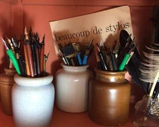 Pen and Ink, Calligraphy tools, paper arts