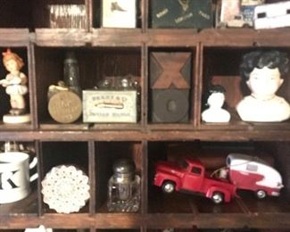 Fabulous small antique items