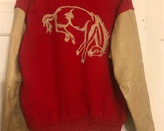 Barrington Illinois 1950's Varsity Coat