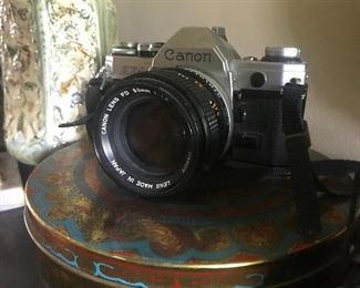 The classic cannon ae1, great camera