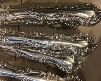 Silver plate utensils, 100's of pieces, great for art, silverware, fancy silverware, mix and match place settings