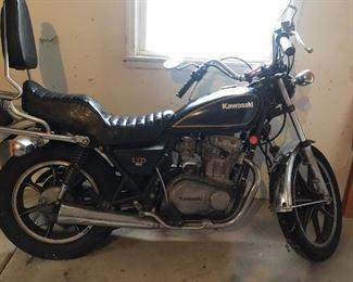 1979 Kawasaki KZ400 motorcycle