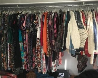 Lots and lots and lots of beautiful clothing