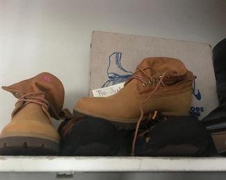 timberland boots women's 9.5