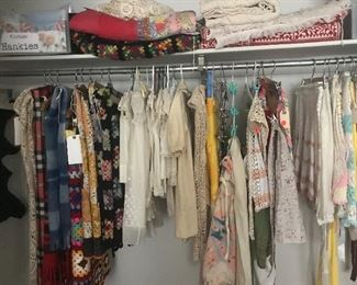 Fabulous clothing, Tory Burch, lularoe in dozens of new styles never worn, north face, vintage galore