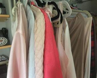Lots of vintage lingerie