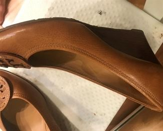 Tory Burch shoes,mint condition, size 9.5.