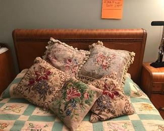 Pillows are blooming