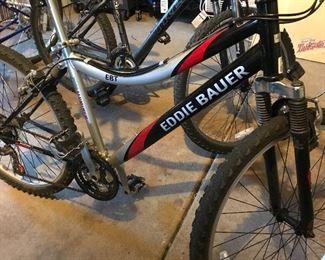 """Eddie Bauer 21 speed, 7005 aluminum, 26"""" men's bike"""