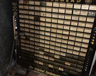 Weatherhead Parts Cabinet