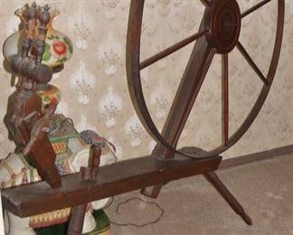 Antique Spinning Wheel