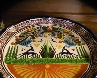 Hand Painted, Mexican Pottery