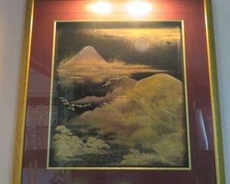 Mount Fuji Framed Wall Art