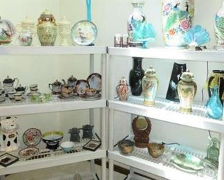 Oriental Tea Sets, Vases, Ginger Jars, Decorative Items