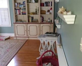 Wall cabinetry not built in - it is for sale!