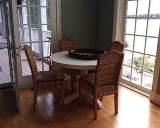 Palecek side chairs!