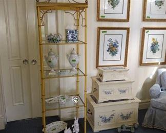 Urns on second shelf NFS.