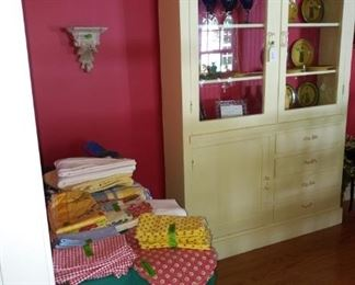 Dining room china cabinet is for sale.