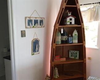 Canoe cabinet NFS, just items on shelves.