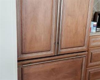 "Jenn-Air refrigerator - 42""; French doors"