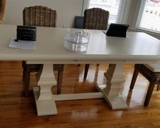 Dining room table (chairs not for sale)