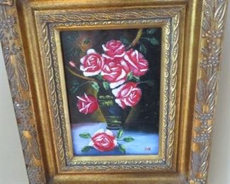 Gold Wood Framed Painting