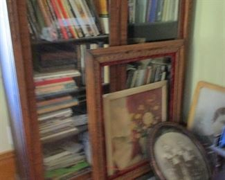 bookcase & prints