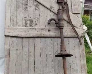 door & well pump