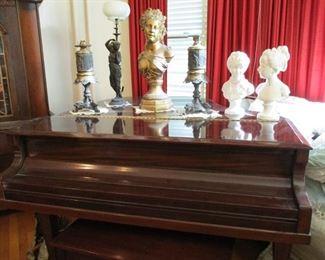 Marshall & Wendell grand piano