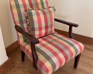 Country Curtain Armchair