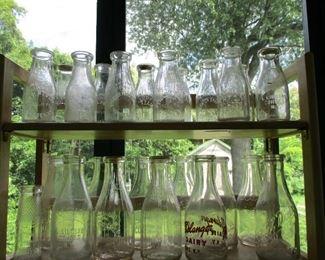 Cohoes milk bottles