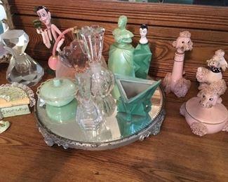 vintage dresser items