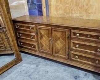 Century Furniture Dresser with Mirror