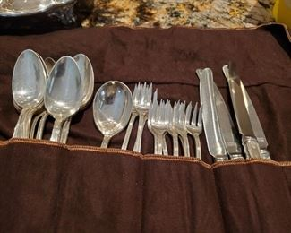 Rogers Sterling Silver 25 pieces