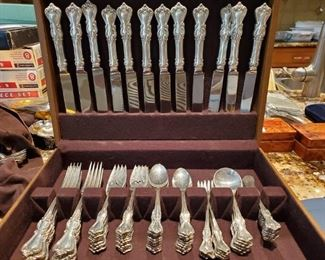 Sterling Silver Flatware Service for 12