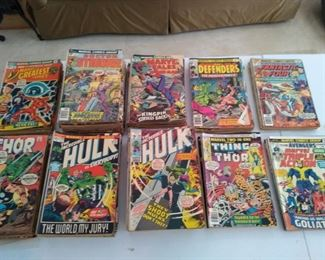 Vintage 1970s-80s Marvel Comic Books!
