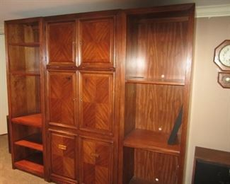 3 PIECE CABINETS