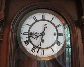 DETAIL OF CLOCK