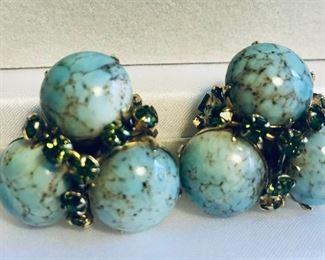 Turquoise Earrings https://ctbids.com/#!/description/share/218701