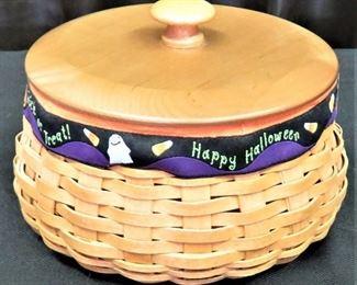 Halloween Basket - Longaberger