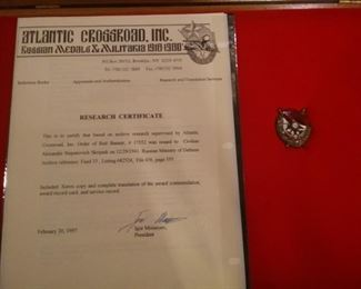 Vast collection of Military WWII Russian Soviet Union USSR Metals-Awards