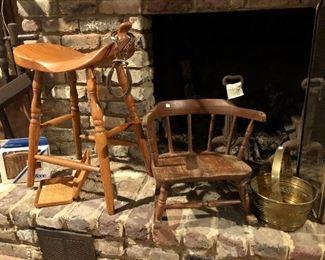 Saddle stool available
