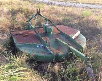 John Deere rotary cutter  attachment  for John Deere tractor