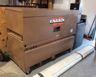 Large Knaack tool chest   There are two of these
