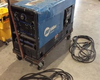 Portable miller welder